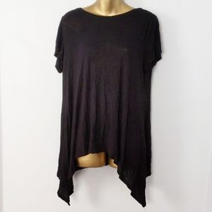 Two by vince black top size large